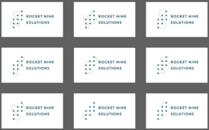 Rocket Nine Solutions New Logo - 9 paths, agile training, agile coaching, kanban, extreme programming