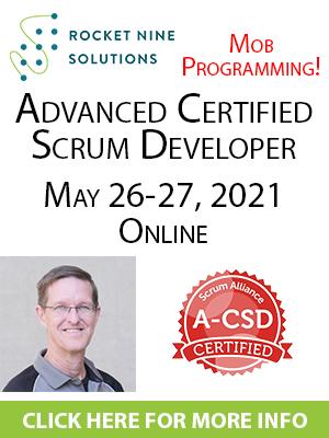 online advanced certified scrum developer training