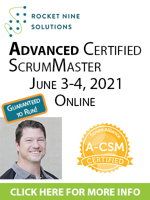 online certified advanced scrum master training