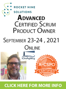 advanced certified product owner
