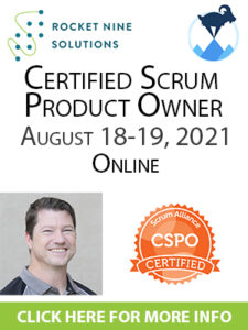 certified product owner class