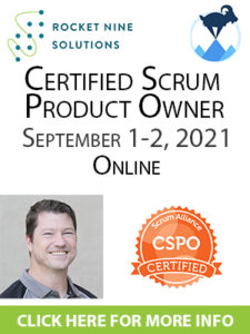 certified product owner training