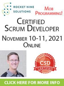 scrum developer training