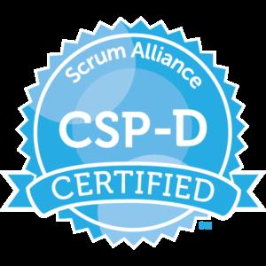 Certified Scrum Professional Developer badge