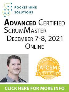 advanced scrum master