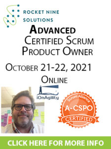 advanced product owner training